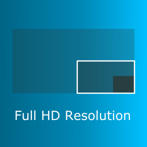 Zoom Kamera Full HD Resolution