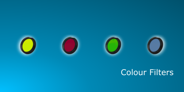 Colour Filters for Lenses